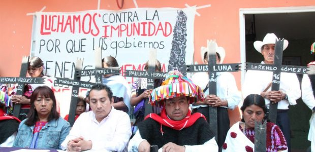 Sigue la transmisión en vivo de la conferencia de prensa y panel, sobre la situación actual de los Derechos Humanos en México; luchas, resistencias, autonomías...