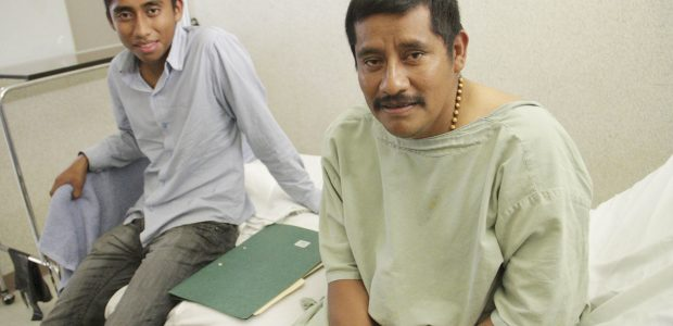 Denuncia atropellos y violaciones a los derechos humanos por mala atención Médica. Entrevista durante una revisión médica en el hospital Vida Mejor, Tuxtla Gutiérrez, Chiapas....