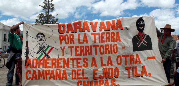Europa/México: ¡NO PASARAN! «Experiencias de luchas en contra de los mega-proyectos y en defensa del territorio» Participan: Ejido San Sebastián Bachajón (Chiapas) contra la privatización...