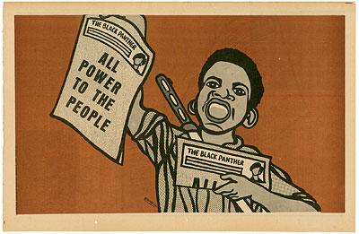 Emory Douglas fué ministro de cultura del periódico The Black Panther. El genio de Emory Douglas La brillantez conceptual y el crudo poder emotivo...