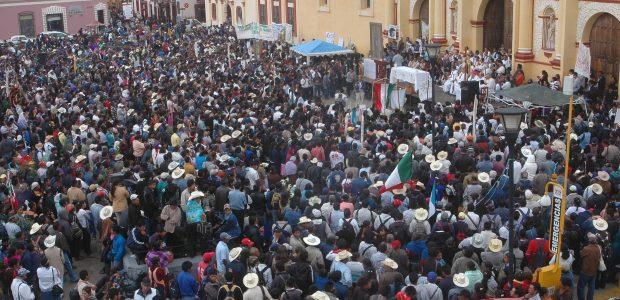 El Pueblo Creyente de la Diocesis de San Cristóbal de Las Casas, Chiapas. Hace invitación a todas las personas de buena voluntad a la peregrinación...