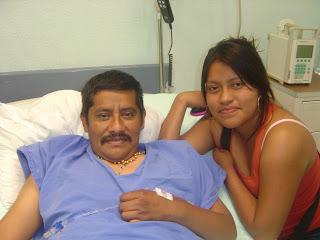 Alberto y su hija Gabriela