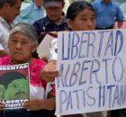 Caminando para las acciones, 13 años de injusticia, #LibertadPatishtan. Alberto es abuelo Gaby Patishtan es madre de una linda niña Genesis Itzae quien nacio el...