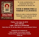 Serapaz A.C. te invita cordialmente a la proyección del nuevo documental de Koman Ilel: Vivir o Morir por la Verdad y la Justicia Documental de...