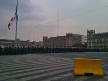 de CML-Df 10 de junio de 2013, 20:01.- Al concluir la manifestación conmemorativa de los 42 años del Halconazo en el Zócalo de la Ciudad...