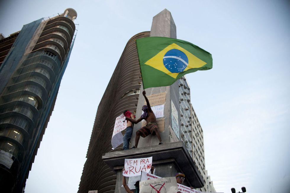 Revueltas en Brasil