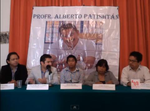 17/06/2013. Conferencia de prensa del Comite por la Liberación del Profesor Alberto Patishtán. Via Ustream.