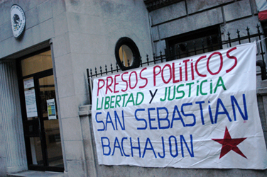 EN EJIDO SAN SEBASTIAN BACHAJON, ADHERENTES A LA SEXTA DECLARACION DE LA SELVA LACANDONA. CHIAPAS, MÉXICO. A 6 DE JUNIO DE 2013 Al pueblo de...