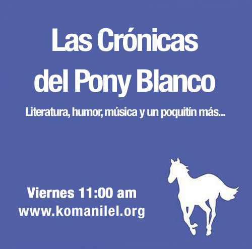 PONY BLANCO