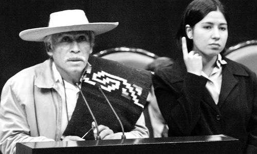 """CÁTEDRA CAMINANTE """"TATA JUAN CHÁVEZ ALONSO"""" Junio del 2013. Somos los indios que somos, somos pueblos, somos indios. Queremos seguir siendo los indios que somos;..."""