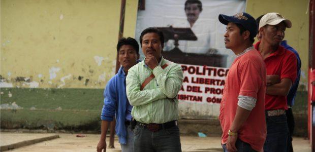 Después de la excarcelacion de nueve compañeros de Patishtán el pasado 04 de julio, el integrante de la Voz del Amate y solidadrios acudieron al...