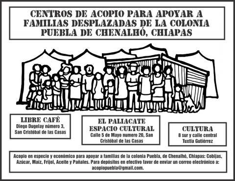 AcopioColoniaPueblaChenalhoChiapas