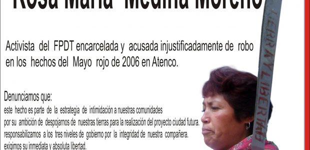 Al pueblo de México: A los pueblos del Mundo: A las organizaciones del pueblo: Nuevamente acudimos a ustedes, desde la orilla del agua, Atenco, para...