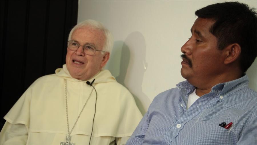 Obispo Raúl Vera y Prof. Alberto Patishtán
