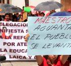 Septiembre de 2013. Voces del movimiento magisterial en Chiapas a un mes de estar en paro indefinido en Tuxtla Gutiérrez y realizar movilizaciones en todo...