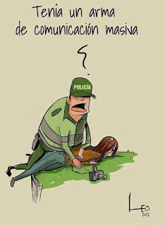 A Presentacion 128 Cancion Los monstruos del poder campaña en defensa de la Yakumamita (Aguadiosa) en Ecuador B Entrevista en Coyotepec represion por la...