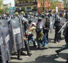 No tenemos un número exacto de detenidos de las protestas de este primero de septiembre, incluso, quizás aumente en las próximas horas, pero hay compañeros...