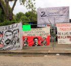 SCLC; Chiapas 11 de septiembre.- Estudiantes de la Facultad de Ciencias Sociales y Políticas de la UNACH toman las instalaciones de la Facultad esta mañana...