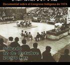 """No te pierdas el próximo sábado 12 de octubre a las 8.30 p.m el documental """"Ixim Winik"""" (Hombres de maíz) sobre el Congreso Indígena de..."""
