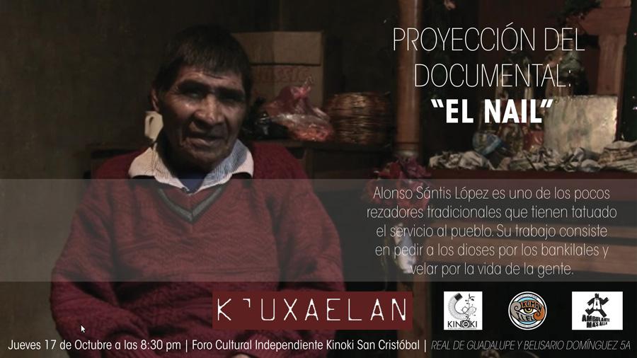 """El Naíl. Documental que retrata la reflexión que hace Alonso Sántiz, quien tiene el cargo de """"jnail"""". Él reflexiona respecto a la vida actual del..."""