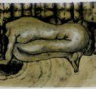 Pintar a mujeres sin brazos, sin piernas, sin cabezas, o con una soga, son algunas de las representaciones que Tania hace para denunciar y...