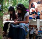 Programa de Radio de investigación de los chavos y chavas tseltales del Bachillerato Bartolomé de Las Casas en Guaquitepec. Con los Temas: La historia del...