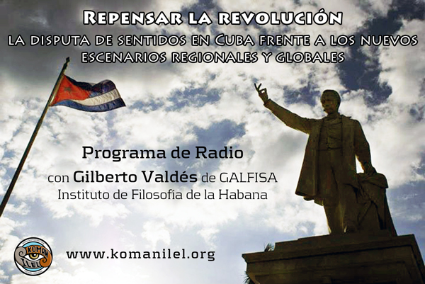 """Programa de Radio con Gilberto Valdés del Grupo de Investigación """"América Latina: Filosofía Social y Axiología (GALFISA) del Instituto de Filosofía de la Habana. En..."""