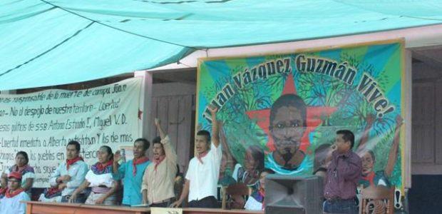 EN EJIDO SAN SEBASTIAN BACHAJON ADERENTES A LA SEXTA DECLARACION DE LA SELVA LACANDONA. CHIAPAS. MEXICO. A 3 DE AGOSTO DE 2014 Al Comité Clandestino...