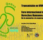 Para conmemorar los 25 años de la Fundación del Centro de Derechos Humanos Fray Bartolomé de Las Casas (frayba); los días 17, 18 y...