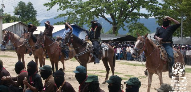 Por medios libres, alternativos, autónomos o como se digan. La Realidad, Chiapas, 24 de mayo de 2014.- Bajo el sol de la Selva Lacandona en...