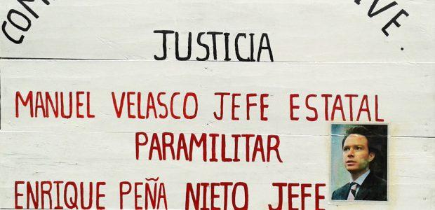 """Por Eureka Guerrero """"Los malos gobiernos piensan y quieren que nos matemos entre indígenas"""" SCI Moisés, CCRI-CG EZLN. El paramilitarismo es una estrategia del Estado..."""