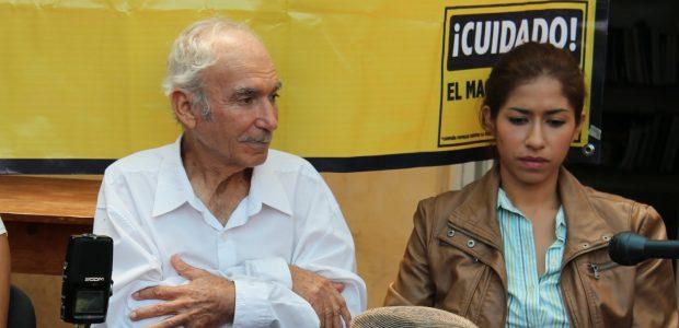 La conferencia de prensa convocada por el Centro de Derechos Humanos Fray Bartolomé de Las Casas y la campaña popular permanente contra la violencia a...