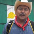 Mario luna en la Realidad con el EZLN