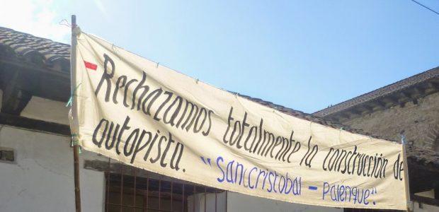 @espoirchiapas Ejido Los LLanos, San Cristobal de Las Casas, se suma a la resistencia en contra de la construccion de la autopista, y invita a...