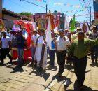 Pueblo Creyente de la parroquia San Antonio de Pádua, Simojovel, Diócesis de San Cristóbal de las Casas, Chiapas México. A 3 noviembre del 2015. A...