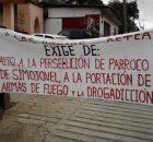 Peregrinación en Simojovel anunciando la nueva etapa de lucha Comunicado de Las Abejas en apoyo Pronunciamiento de Pueblo Creyente Fotos @Frayba Texto El Nachito En...