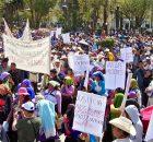 @espoirchiapas Hoy 25 de Noviembre miles de personas marcharon en San Cristobal, la mayoria perteneciente al Pueblo Creyente que hace unos días había convocada a...