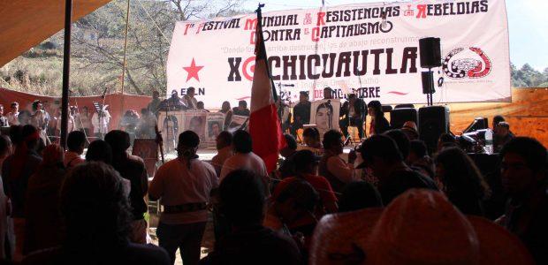 """Xochicuautla, 23 de diciembre de 2014 Alejandro Reyes, Colectivo Radio Zapatista """"Nosotros sabemos que lo que le hagan a la tribu yaqui se lo van..."""
