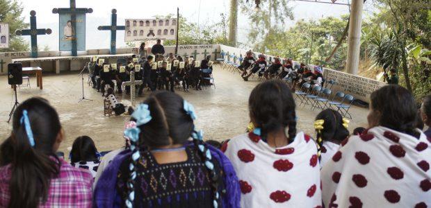 Organización de la Sociedad Civil Las Abejas Tierra Sagrada de los Mártires de Acteal Acteal, Ch'enalvo', Chiapas, México. 11 de enero del año 2015 ...