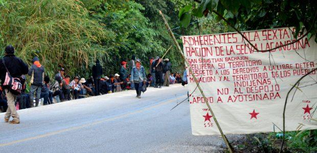 A un día de la recuperación de sus tierras se tiene información que el Comisariado Ejidal de San Sebastián Bachajón Alejandro Moreno Gómez y su...