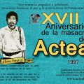 Flyer-acteal XVII