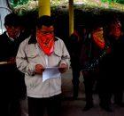 EN EJIDO SAN SEBASTIAN BACHAJON ADERENTES A LA SEXTA DECLARACION DE LA SELVA LACANDONA. CHIAPAS. MEXICO. A 22 DE DICIEMBRE DE 2014 A...