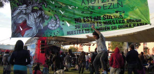de colectivo Radio Zapatista En el Gran Festival Cultural del Festival Mundial de las Resistencias y las Rebeldías contra el capitalismo, entre la música, talleres,...