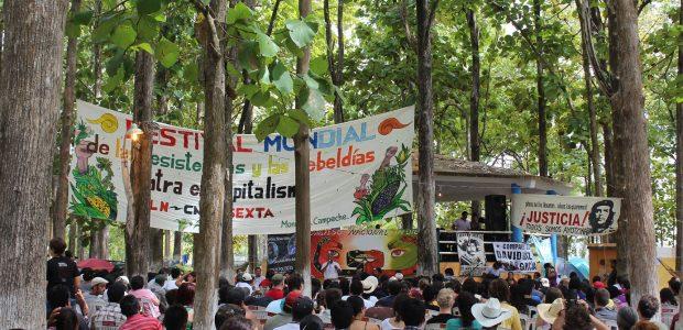 31 de diciembre de 2014. San Cristóbal de las Casas, Chiapas. Eugenia Gutiérrez. Colectivo Radio Zapatista. Y no podía faltar el paraíso, ese que vamos...