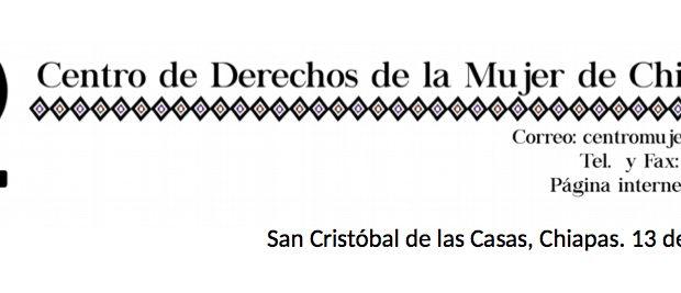 San Cristóbal de las Casas, Chiapas. 13 de enero de 2015 A las autoridades responsables del gobierno municipal, estatal y federal A las Juntas...
