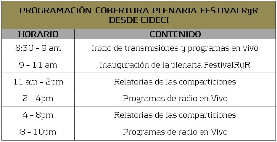 PROGRAMA festivalRyR