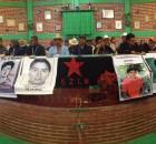 Tejemedios La Otra Jovel, Chiapas, Territorio Rebelde, 2 de enero de 2015.- Madres y padres de familia de los estudiantes de Ayotzinapa desaparecidos y asesinados...