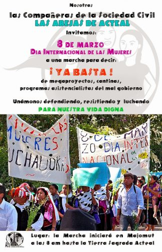 CARTEl mujeres abejas