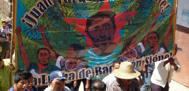EN EJIDO SAN SEBASTIAN BACHAJON ADERENTES A LA SEXTA DECLARACION DE LA SELVA LACANDONA. CHIAPAS, MEXICO. A 26 DE SEPTIEMBRE DE 2015 A la comandancia...