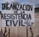 """ORGANIZACIÓN DE LA RESISTENCIA CIVIL """"LUZ Y FUERZA DEL PUEBLO"""" ESTADO DE CHIAPAS, MEXICO. ADHERENTES DE LA SEXTA MUNICIPIO DE LAS MARGARITAS, CHIAPAS; 23 DE..."""